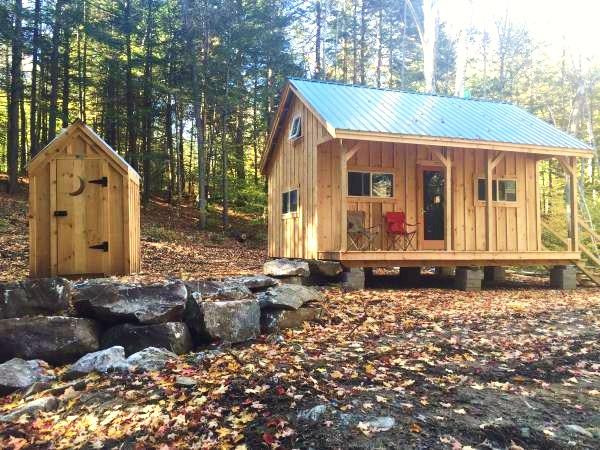Vermont Jamaica Cottage Shop Tiny Cabin On 10 Acres For Sale