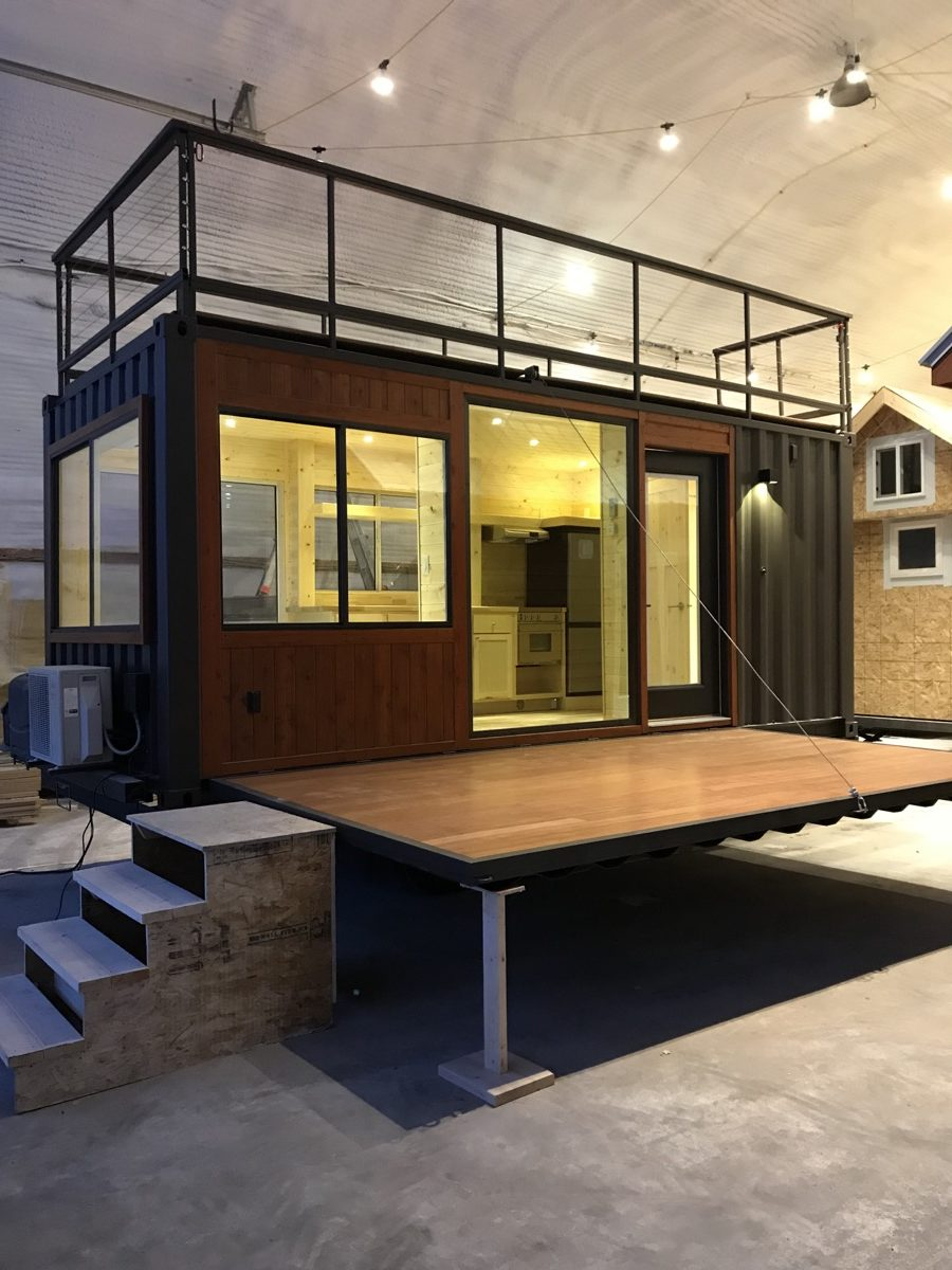 Vista C Shipping Container Tiny House From Escape