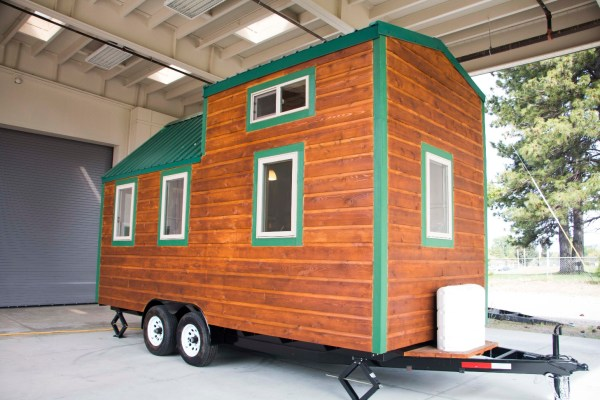 Weed High Schools Tiny House Project 001