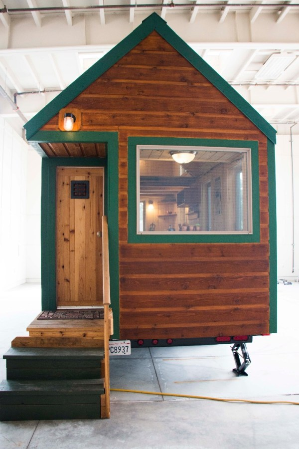 Weed High Schools Tiny House Project 002