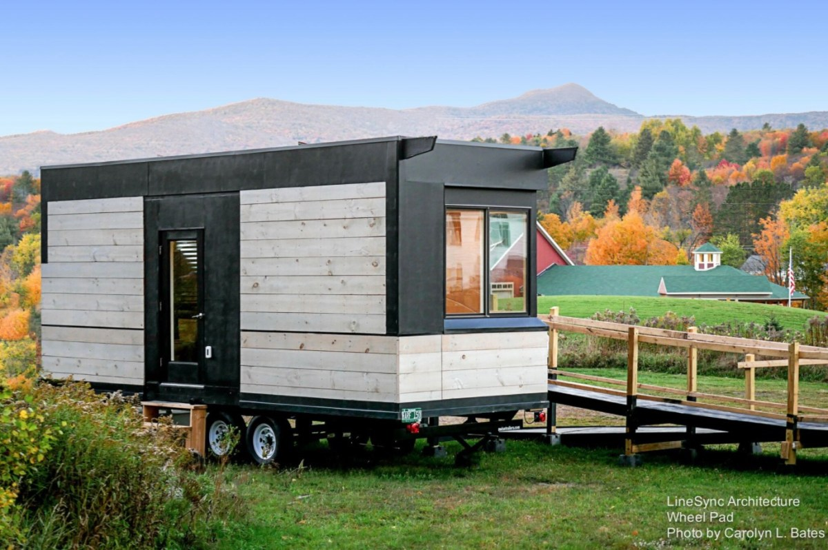 The wheel pad tiny home on wheels that 39 s wheelchair friendly for Wheelchair homes