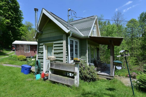 240 Sq Ft Tiny Cottage Remodel Before After: Couple Rightsize Into DIY 520 Sq. Ft. Whimsical Cottage