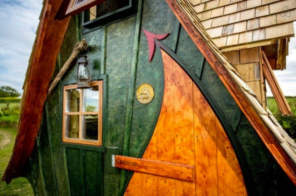 Whimsical and Funky Tiny Cabin The Jack Sparrow House