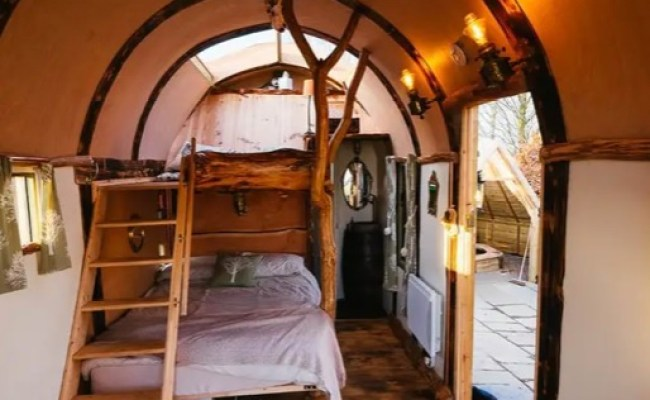 Wigwam Hot Tub Tiny House In Rural England