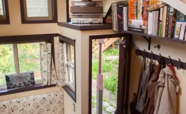 Woman Designs Builds Her Own Pocket Mansion Tiny House
