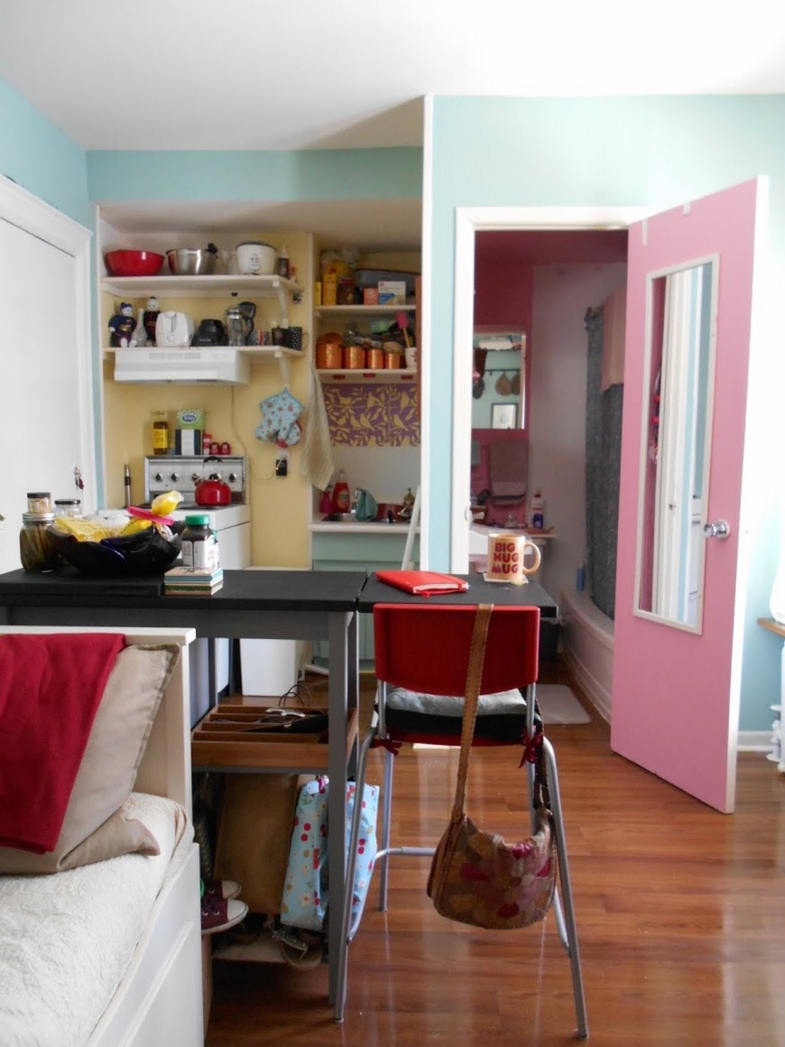Woman's 120 Sq. Ft. Tiny Apartment in Toronto