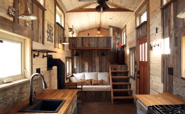 Woman S Blissful 24ft Gooseneck Tiny Home