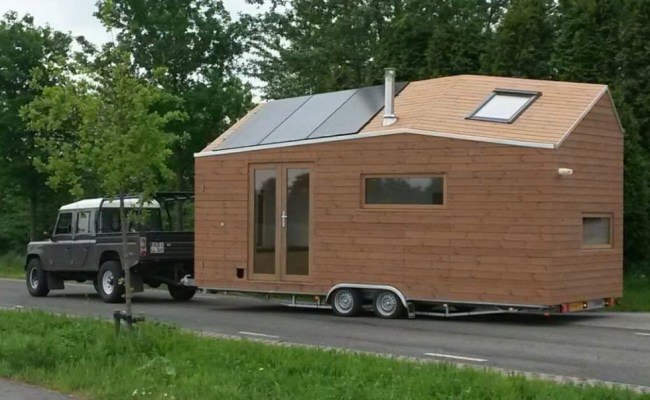 Woman S Legal Tiny House In The Netherlands