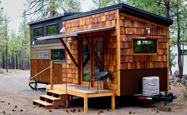 Wood Iron Tiny Homes North Sister Model