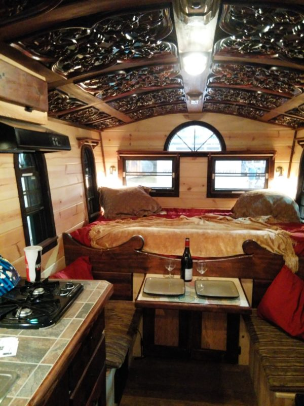 16 Ft Gypsy Wagon Woolywagon Tiny House For Sale