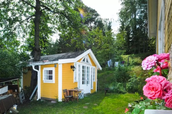 Tiny Writer's Cottage in Sweden