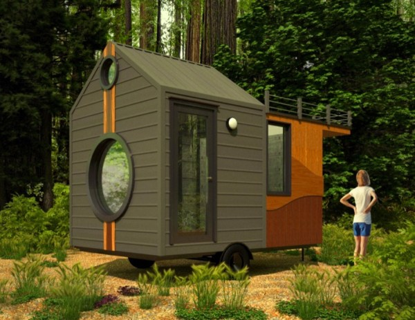 Zen Den Tiny Om on Wheels 003 - View Small House Zen Design  Images