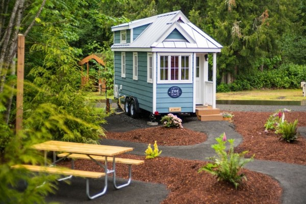 Zoe Cypress 20 Tiny House at Mt Hood Tiny House Village via TinyHouseTalk-com 002