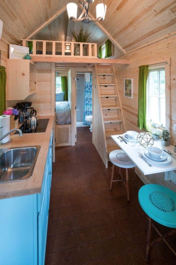 Zoe Tiny House at Mt Hood Tiny House Village