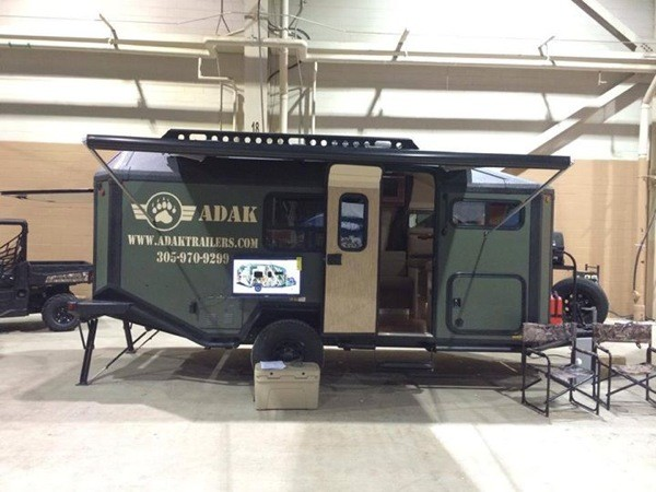 Man designs builds and produces off grid micro cabin trailer for Cabin a camper for sale