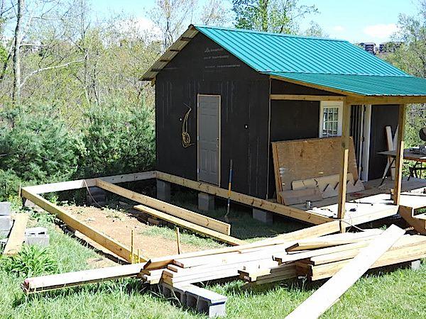 Small Cabin Addition Prep