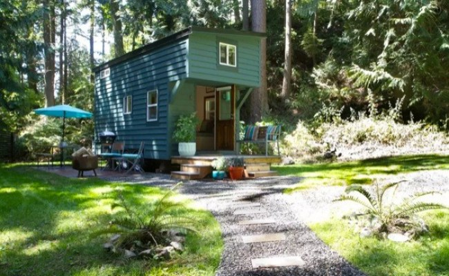 144 Sq Ft Tiny House On Guemes Island Wa