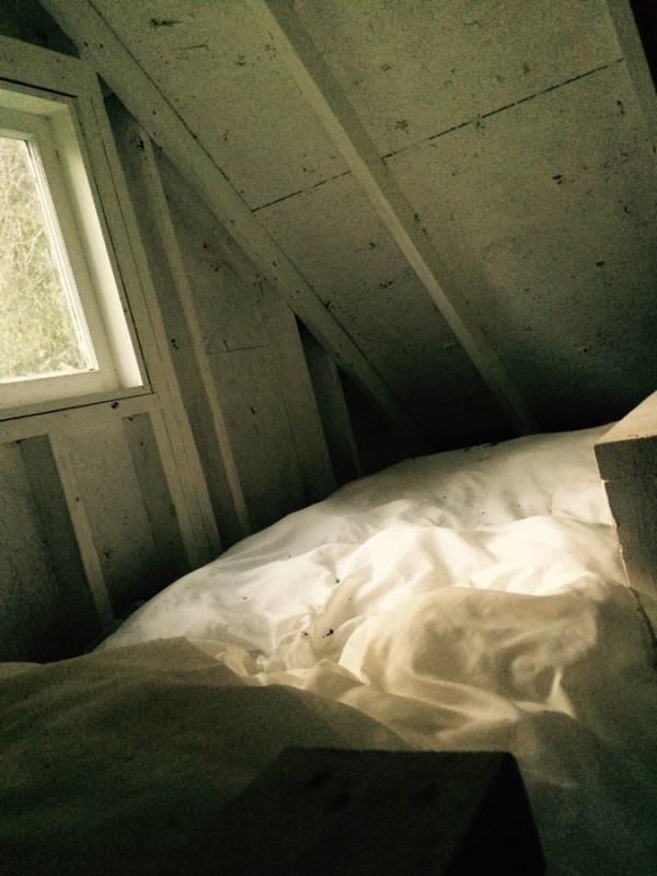 sleeping loft of playhouse