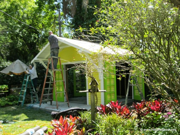 144 Sq Ft Backyard Shed Art Studio