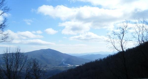 Blue Ridge Parkway North Carolina Mountains