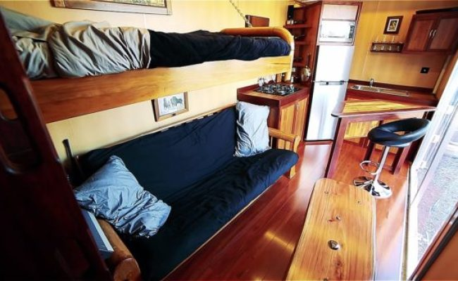 Boat Builder S 20 Shipping Container Tiny Home