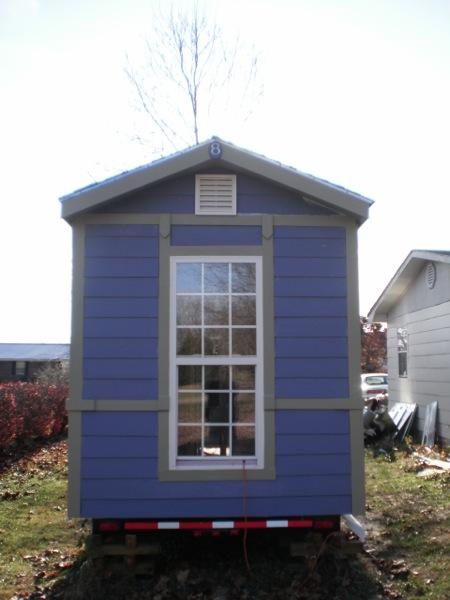 Bob's Towed Haul Tiny House with Big Windows