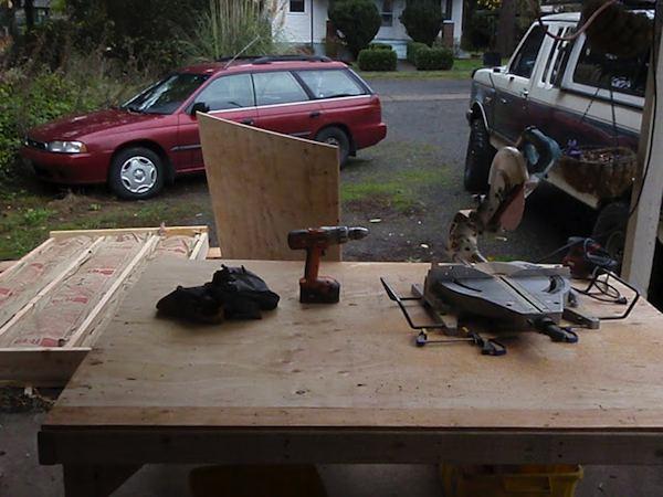 Building Panels for Custom Prefab Tiny Cabin