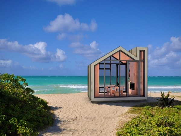 Prefab And Modern Bunkie Tiny House Concept