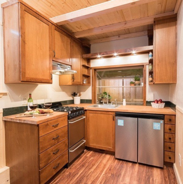 224 Sq. Ft. Sequoia By California Tiny Houses