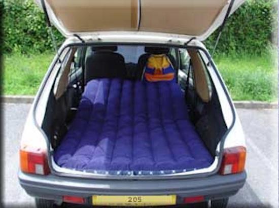 Extreme Car Camping