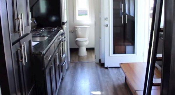 Tiny House Kitchen and Hallway