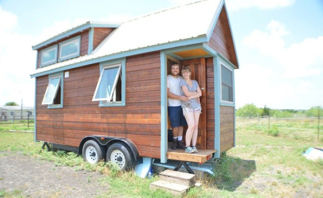 Couple Living Tiny In An Austin Tx Rv Park