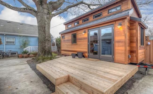 Couple Living In 160 Sq Ft Backyard Tiny House