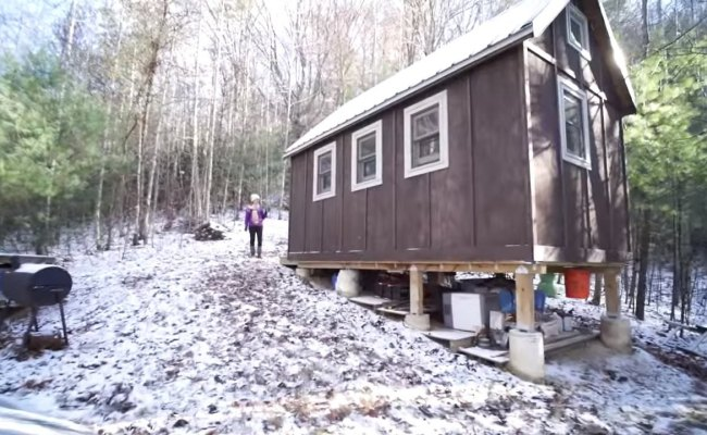 Couple S Off Grid Tiny House Near Asheville Nc