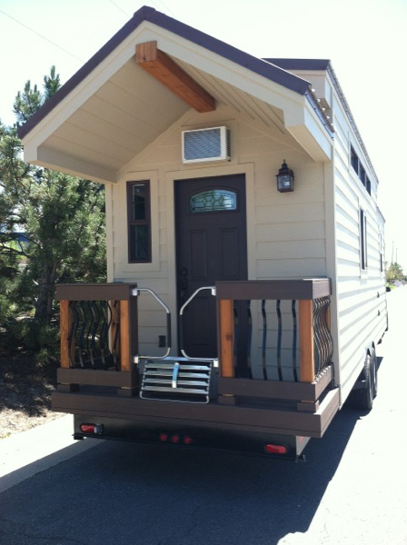 Dakota Tiny House with Retractable Stairs to Porch