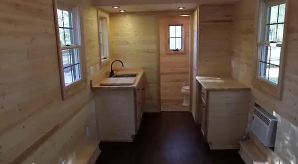 Dan Louche Tiny Home Builders Tiny Living House Interior