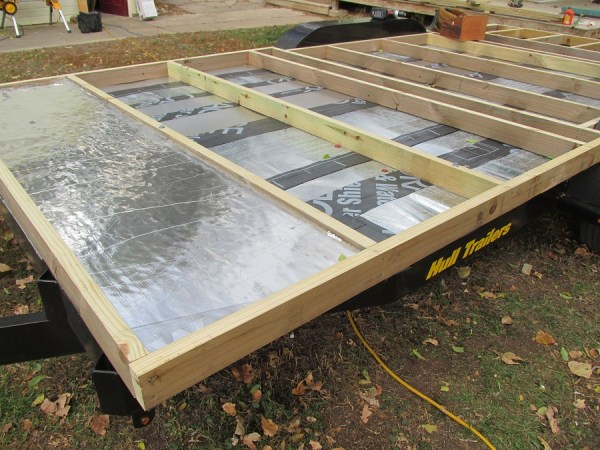 deck on flashing
