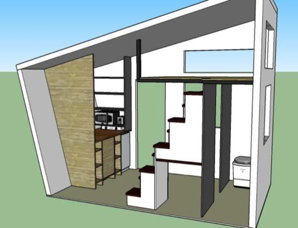 denise eissler 8x12 tiny house design 003 - 8x12 Tiny House On Wheels Plans
