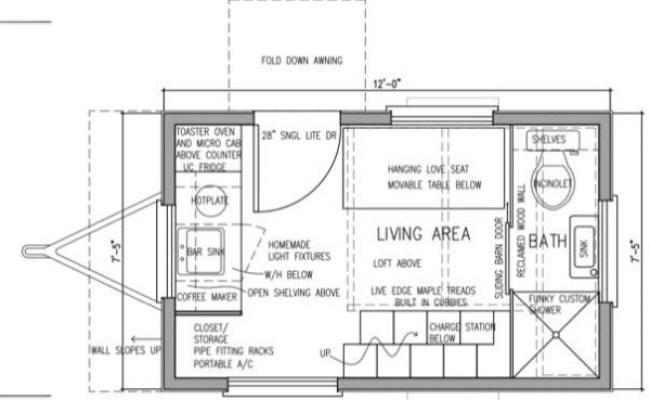 Denise S 8x12 Tiny House Design
