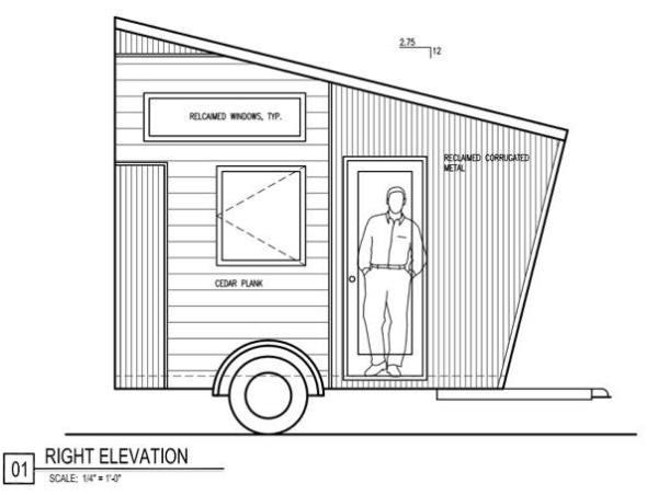 denise eissler 8x12 tiny house design 009 - 8x12 Tiny House On Wheels Plans
