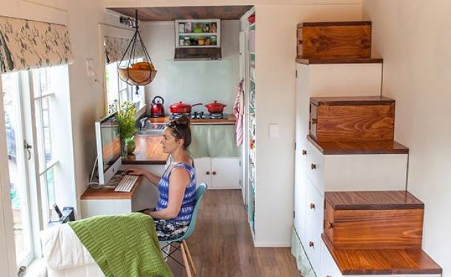 Young Family S Diy Tiny House On Wheels