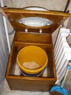 DIY Humanure Toilet