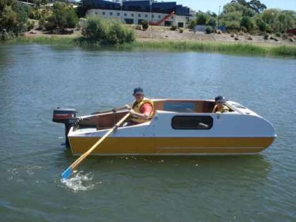 DIY Micro Camper That Doubles As A Boat