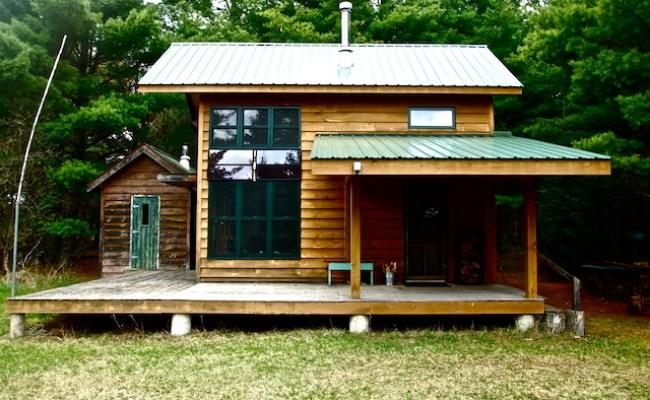 Diy Hand Built Off Grid Tiny Cabin