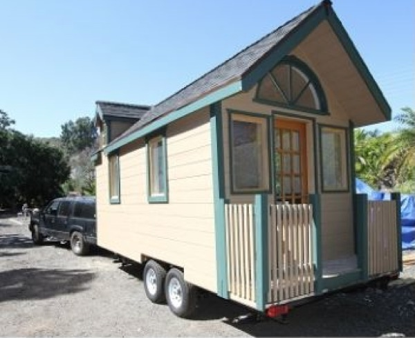 Custom tiny cottage on wheels for sale for Custom cottages for sale