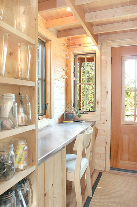 Inside Jay Shafer's Epu Tiny House