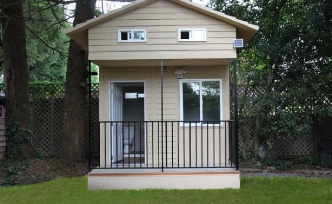 Eroca S 10 X10 Micro Home Built Using Composite Steel