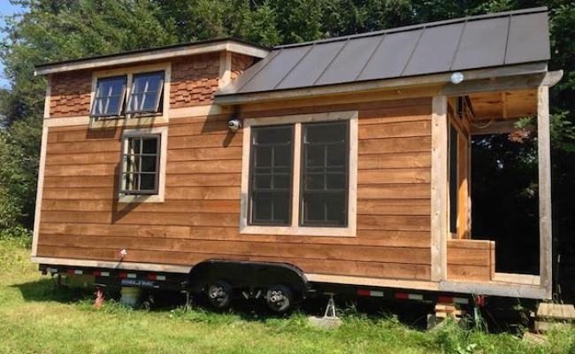 Man Designs And Builds His Own Mortgage Free Tiny House