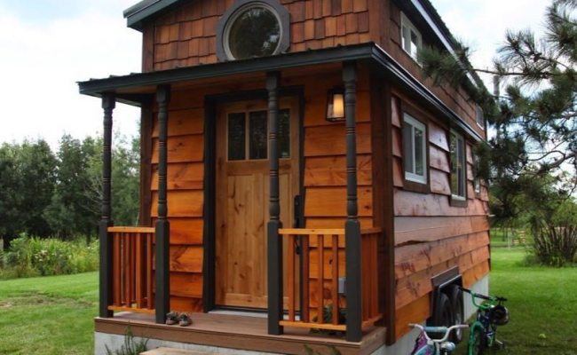 Family Of Four S 207 Square Foot Tiny Home