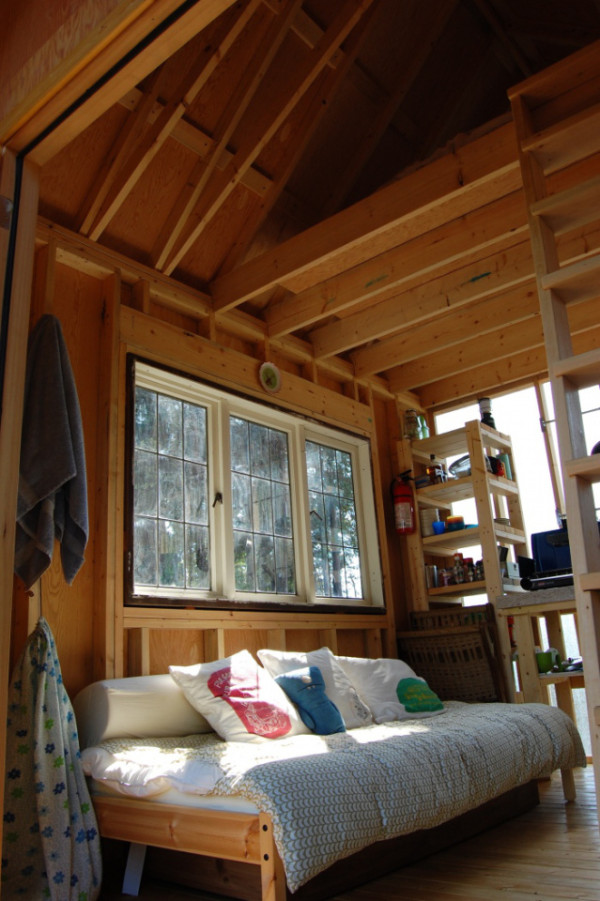 Young Family Build $7k Tiny Cabin in 2 Weeks